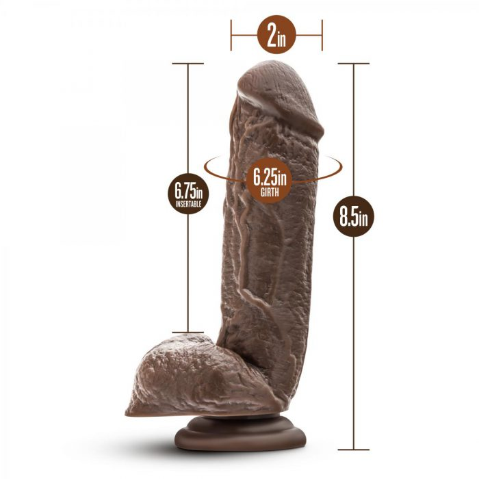 Dr. Skin - Mr. Magic - 9 Inch Dildo - Chocolate