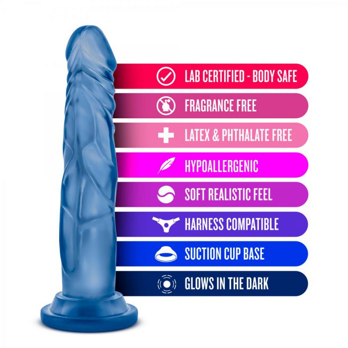 Glow Dicks - Kandi - Blue