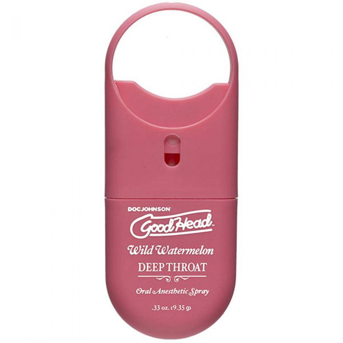 Goodhead - Deep Throat Spray to-Go - Wild Watermelon - .33 Oz.