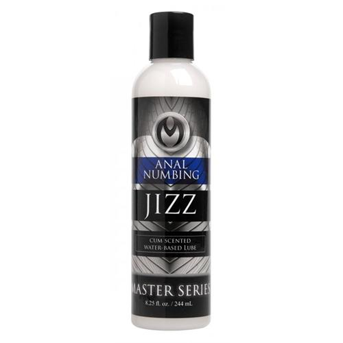 Jizz Cum Scented Anal Desensitizing Lube 8.25 Oz