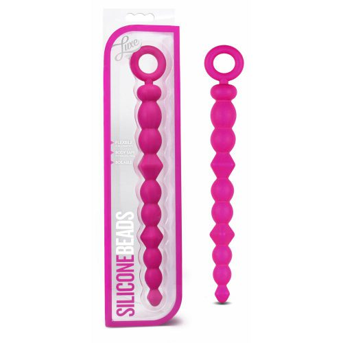 Luxe Silicone Beads - Pink