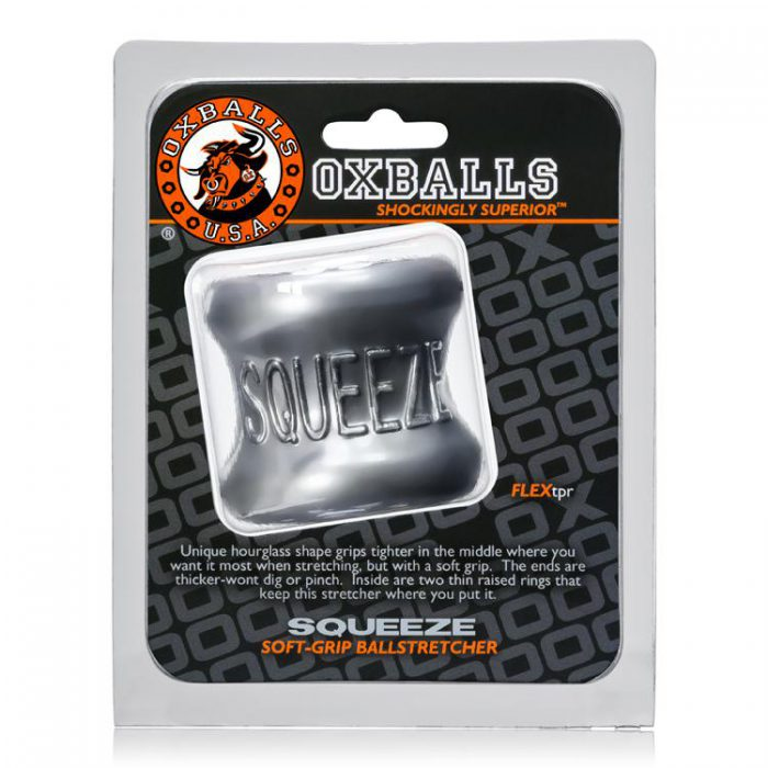 Squeeze Soft- Grip Ballstretcher - Steel