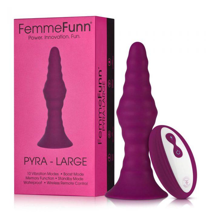 Pyra - Large - Dark Fuchsia