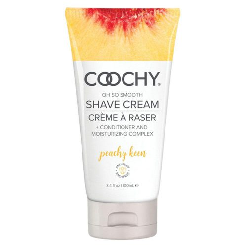 Coochy Oh So Smooth Shave Cream - Peachy Keen 3.4 Fl Oz 100ml