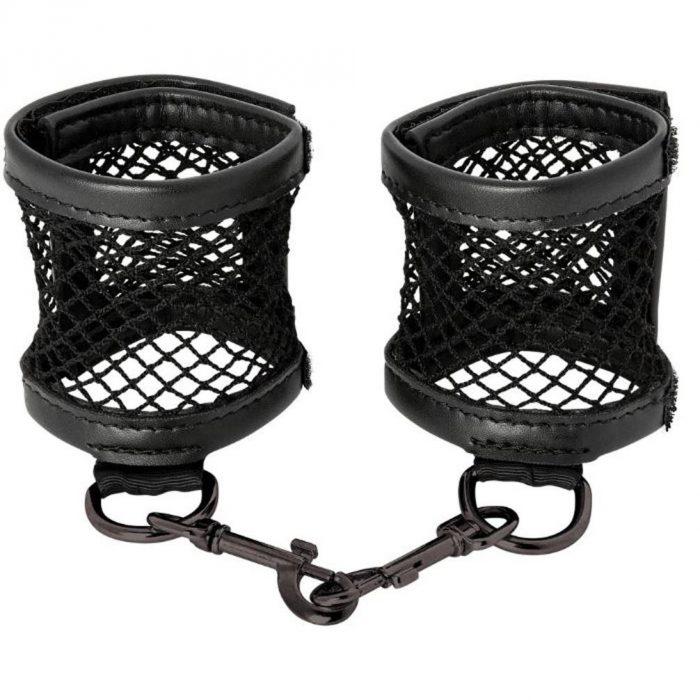 Sex and Mischief Fishnet Cuffs