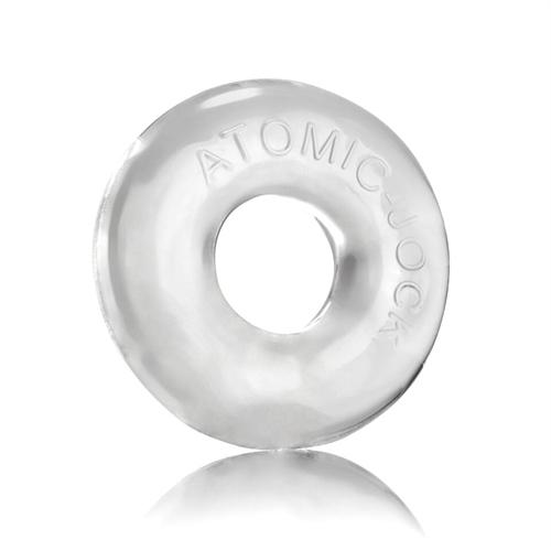 Do-Nut-2 Large Atomic Jock Cockring - Clear