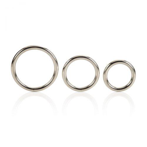 Silver Ring 3 Piece Set