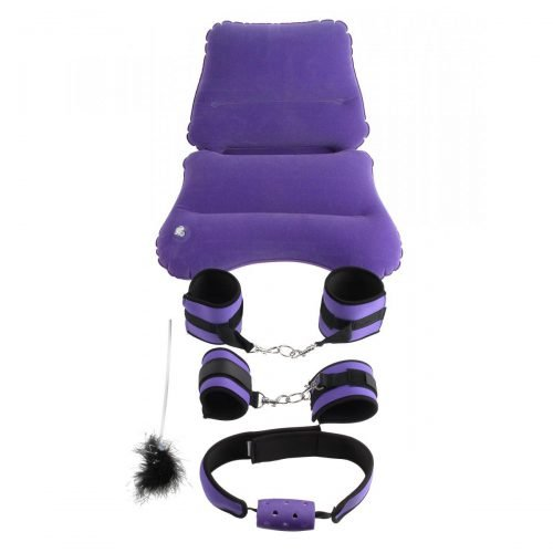 Ff Purple Pleasure Bondage Set