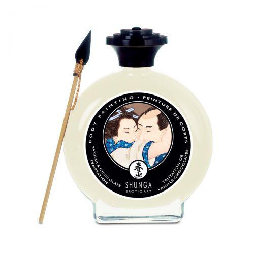 Edible Body Paint - Vanilla & Chocolate Temptation - 3.5 Fl. Oz. / 100 ml